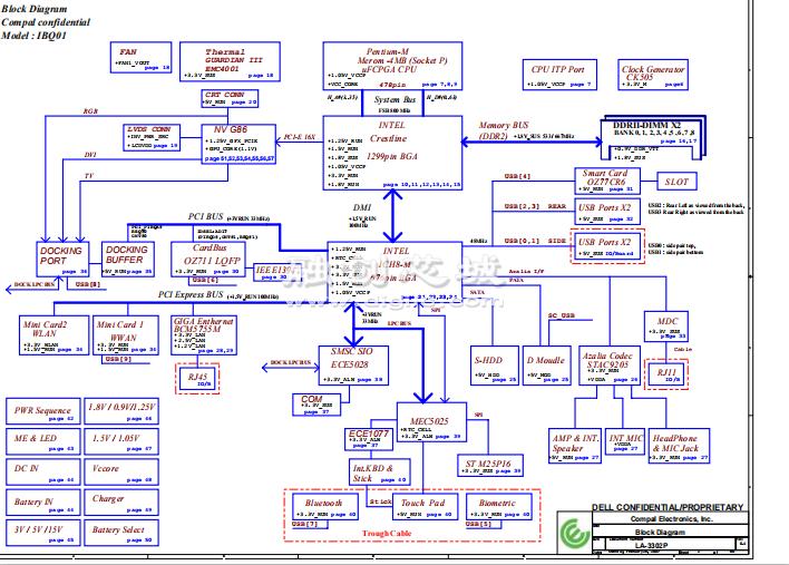 烟雾报警器电路图_戴尔笔记本主板详细电路原理图图纸合集-融创电子社区